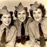 Carmen Miranda and The Andrews Sisters